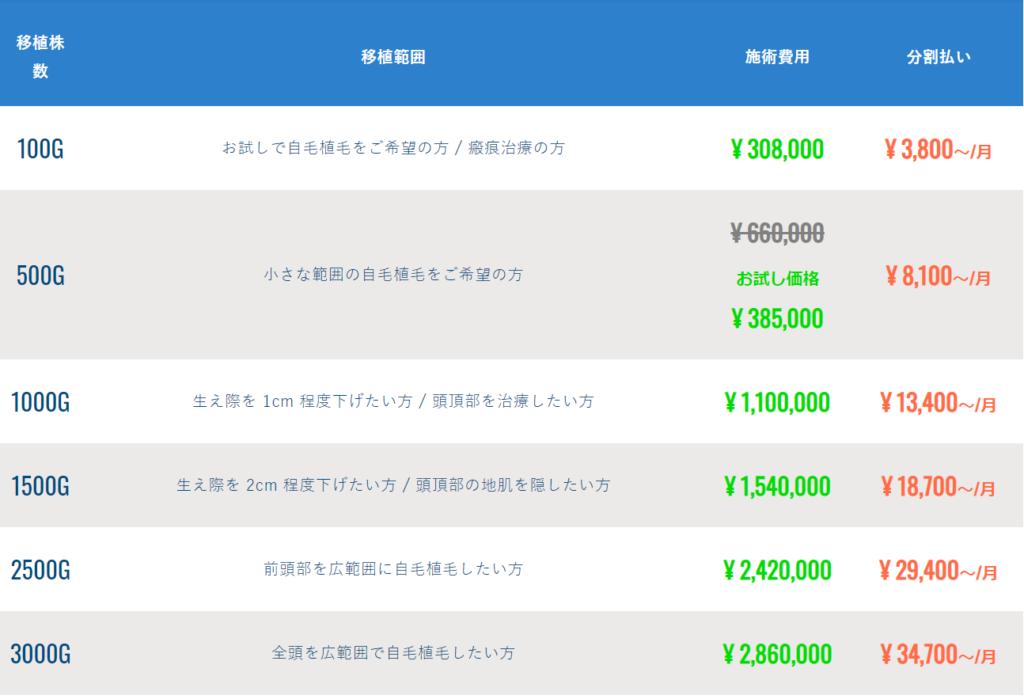 i-Direct(アイ・ダイレクト)費用